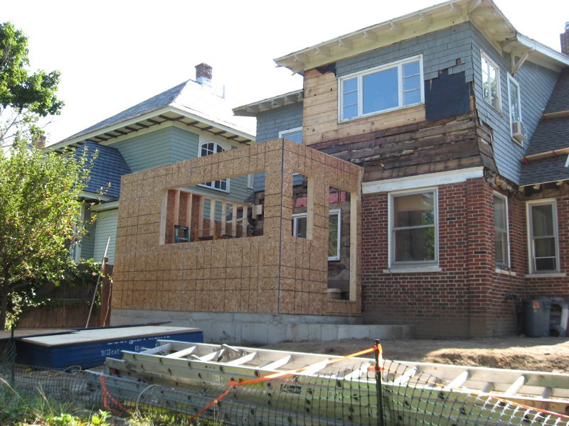 Bungalow Addition And Restoration Baker Contracting