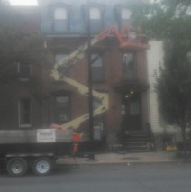 Full Exterior Facade Rehabilitation Historic Downtown Albany Residence