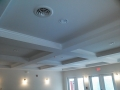 Cofferred ceiling