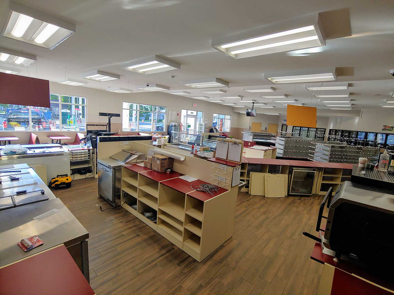 Stewarts shop interior