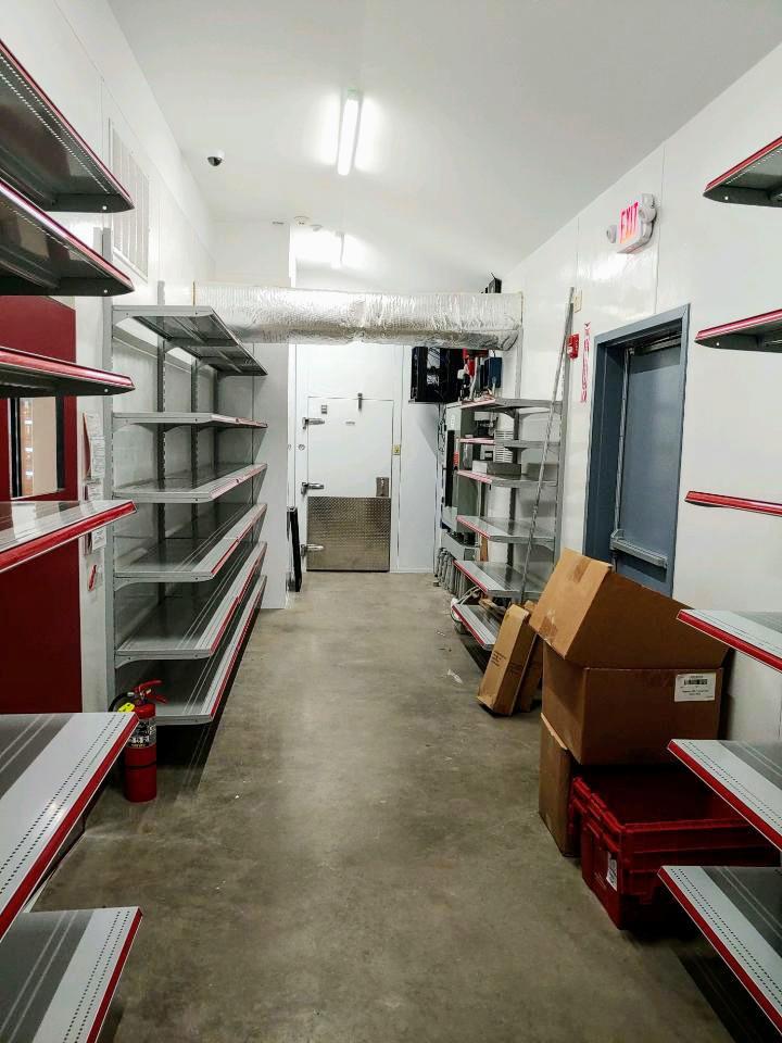 Stewarts shop storage